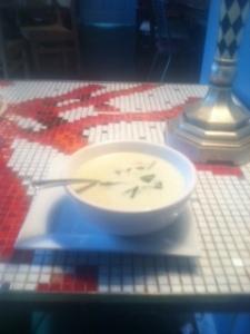 Soup at Amelie's
